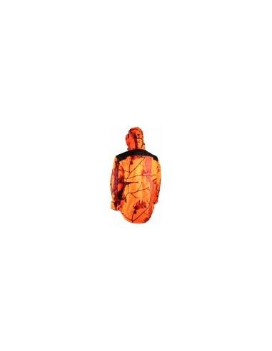 Veste Matelassée Camo Orange - SOMLYS