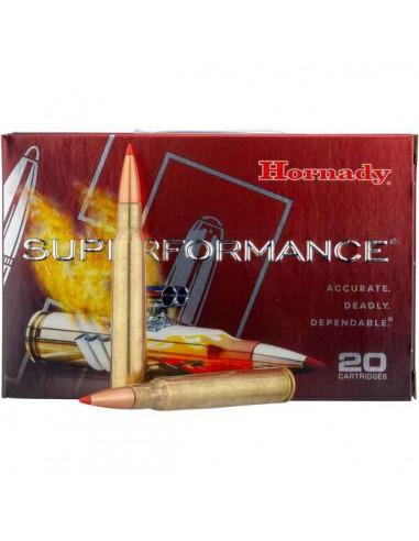 Balles Superformance 7x64 162g - HORNADY